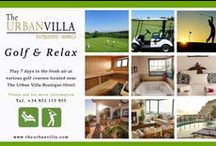 Golf & Relax / Play 7 days in the fresh air at various golf courses located near The Urban Villa Boutique Hotel Marbella