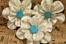 Paper/Tissue Flowers