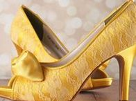 Brightly Colored Weddings / Brightly colored wedding ideas and wedding shoes  | Custom designed handmade wedding shoes • Creating the bride's dream wedding shoe with bling, lace, flowers, bows, butterflies & more | CustomWeddingShoe.com