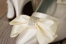 Neutral Colored Weddings / Neutral colored wedding ideas and wedding shoes  | Custom designed handmade wedding shoes • Creating the bride's dream wedding shoe with bling, lace, flowers, bows, butterflies & more | CustomWeddingShoe.com
