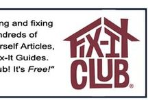 August Fix-It Tips / Ten Free Fix-It Tips for August from the Fix-It Club!