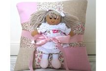 Gift Sets / We sell a wonderful collection of gift sets for little children.  Each gift set comes with a soft toy and personalised cushion.