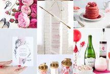 Moodboard de boda / Inspírate con estos moodboards de boda y escoge tu paleta de colores
