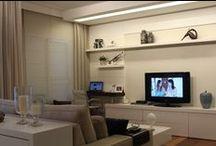 Living / Sala / Ideias de como decorar e aproveitar melhor os espaços.