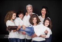 Familia en El Estudio de Silvia / Fotos familiares, originales, divertidas...