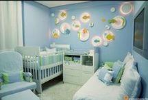 Quarto bebê / Dicas para deixar o quarto do bebê mais aconchegante.