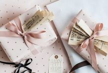 Packaging / Envuelve tus regalos con cariño