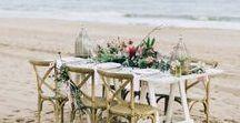 Mesas de bodas / Decoración de mesas de boda