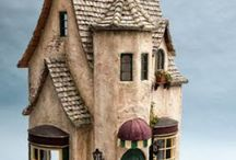 DOLL HOUSES. HOUSES MADE FROM HAND, CRAFTING HOUSES, BUILT HOUSES, FANTASY HOUSES, WOOD HOUSES, HOUSES MADE FROM STONE / DOLL HOUSESHOUSES MADE FROM HAND, CRAFTING HOUSES, BUILT HOUSES, FANTASY HOUSES, WOOD HOUSES, HOUSES MADE FROM STONE / by Elizabeth Delpha