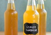 KOMBUCHA TEA AND FERMENTED FOODS ; )
