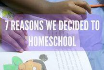 Homeschooling / Homeschooling tips.