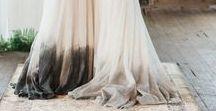 Dip Dyed Wedding / Bodas dip dyed