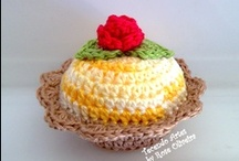My Creations - Crochet Cupcakes