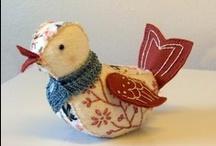 Pássaros - birds craft