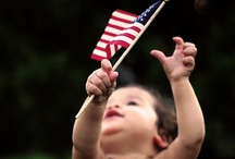 Red, White, & Blue / God Bless America / by Jessica Huth