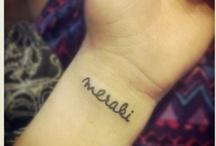 Tattoos / by Bibbit Hall