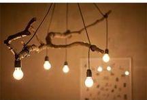 Light Up Your Life. / Creative lighting inspiration.