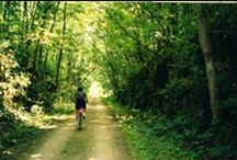 Iowa By Trail / Hike, bike, run, row...any way you can, get out and enjoy the hundreds of trails throughout our great state!
