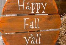 Happy Fall Y'all!
