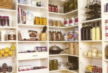 Pantry / A well stocked pantry is like money in the bank.