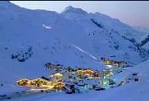 World's Best Ski Resorts / Our collection of the World's Best Ski Hotels and Resorts isn't just about the world class slopes. We've rounded up the most luxurious options for enjoying this wintertime sport. There's something for all levels at these ski-centered luxury hotels and resorts: Ski-in, ski-out access, butlers, schools, mountainside locations, and spacious accommodations with the full range of après ski activities. Spa services, fine dining, and other wintertime activities abound.  / by Five Star Alliance