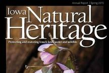 Iowa Natural Heritage / Iowa Natural Heritage is INHF's quarterly magazine filled with stories about connecting with Iowa's outdoors and the work we do to conserve Iowa's land, water and wildlife.