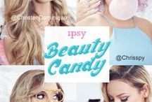 """BEAUTY CANDY / A sugar high your dentist would approve! The October """"Beauty Candy"""" Glam Bag will cure your craving for something sweet and delightful! Check out our latest #ipsyStylist tutorials for looks that are sugar-coated with all of your favorite products this month."""