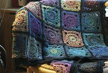 Crochet-My Granny's squares / by Joni Drake Ward