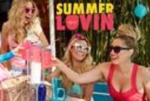 """SUMMER LOVIN' / Turn up the temperature with our """"Summer Lovin'"""" theme and see how #ipsyStylists Chrisspy, Christen Dominique, Desi Perkins and LustreLux get inspired to party poolside with sunkissed skin and bright lips!  If you aren't an ipsy subscriber, soak up the sun with the Glam Bag and receive 5 full-size or deluxe sample-size beauty products plus a fun, fashionable makeup bag for only $10/month: https://www.ipsy.com/"""