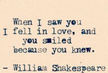 Quotes ~ Love / Quotes about Love, Love Quotes. You know, the mushy stuff of life...