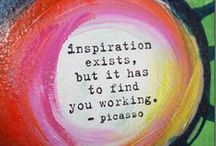 Quotes ~ Creativity / Quotes about creativity.