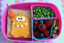 Bento / Different ways to present food to the kids...maybe they'll try something new!