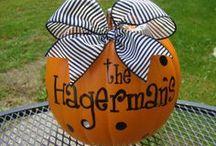 Halloween / Halloween and Fall Craft Ideas / by Christopher Davis