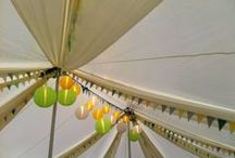 Traditional Marquees / Traditional Pole Marquees...inside and out!