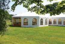 Frame Marquees / Marquees to suit all sizes and requirement, no interior poles or guys.