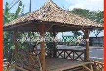 Bamboo Gazebo / Bamboo Gazebo Visit Our Website http://dekorasia.com