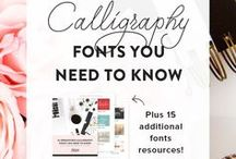 Fonts Typography / Hi! Are you looking for new fonts and typography styles to give your brand and website a new look? Check out what this board has to offer, you're sure to find something you love!   Typography Tips, Branding Fonts, Web Design Fonts, Free Fonts, Commercial Fonts, Handwritten Fonts, Modern Fonts, Script Fonts, Beautiful Fonts, Fonts for Logo Design, Font Pairings, Font Combinations, Typography Inspiration, Font Creation, Custom Fonts, Google Fonts, Cursive Fonts, Bold Fonts, How to Mix Fonts,