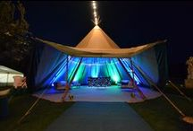 Beautiful Marquee and Tipi Wedding at Castle Combe / Great start to the wedding season with an amazing wedding at Castle Combe hotel - beautiful venue, great weather and stunning marquees and tipis (www.abbasmarquees.co.uk)