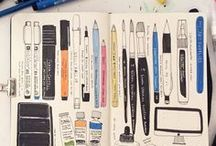• sketchbooks