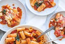 Dish Type: Pasta & Lasagna / There's a great big world out there when it comes to pasta, so think outside the spaghetti box. From rigatoni to risotto, find your new favorite pasta dish here.