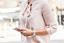 Fashion & Style / Stylish Outfit ideas, pairings, and inspiration for female entrepreneurs, work from home mom, and working woman