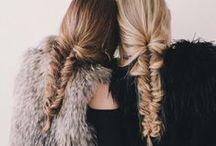 W / #warkocze, #spinki, #kręcone, #koki, #kucyki   #braids, #clips, #curly, #buns, #ponytails
