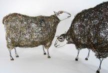 Sheepscape Headdress Commission
