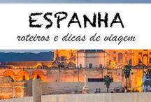 Viajar em Espanha / Inspiração para viajar em Espanha, com dicas de viagens, os melhores destinos e ideias sobre o que visitar em Espanha - Barcelona, País Basco, Andaluzia, Santiago de Compostela, ilhas Baleares.