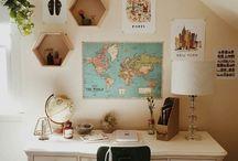 Cuarto/ DIY / Ideas para hacer en el tiempo libre y también para dejar tu cuarto divino