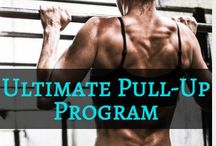 The Ultimate Pull-Up Program / The most comprehensive pull-up training program that exists. 166 pages, and 4 phases that includes pull-up training exercises and tips, pull-ups for beginners, pull-ups for women, pull-up training for women, pull-up exercises for women, pull-ups for men, pull-ups for muscle building, home pull-up workouts, gym pull-up workouts, pull-up regressions, pull-up progressions, full body exercises for pull-ups, core exercises for pull-ups, and advanced pull-up variations.