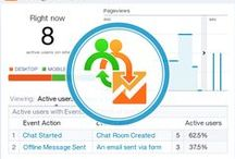 Live Chat Features / Features of Provide Support's Live Website Chat: real-time visitor monitoring, traffic statistics reporting, flexible customizations and more.