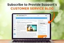 Provide Support Blog - Customer Service Tips / Read our blog for great articles and infographics about customer service, customer support, social customer care, customer experience, customer satisfaction and customer loyalty: http://www.providesupport.com/blog/