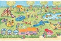 Thema: Gezondheid (Kleuterplein) / Lesideeën voor taal, rekenen, schrijven, knutselen, tekenen/kleuren, muziek, filmpjes, drama en dans voor de onderbouw (groep1 t/m 3). / by Claudia Zwiers-Jongepier