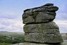 Dartmoor / The stunning landscape of Dartmoor in Devon, England...I live in a tiny village on the northern edge of it.